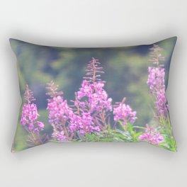 Rising Fireweed Rectangular Pillow