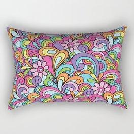 Psychadellic Swirls Rectangular Pillow
