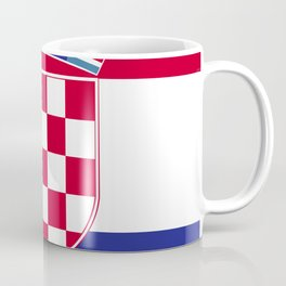 Croatia flag emblem Coffee Mug