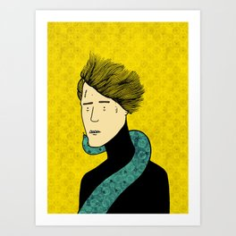 A friend indeed Art Print