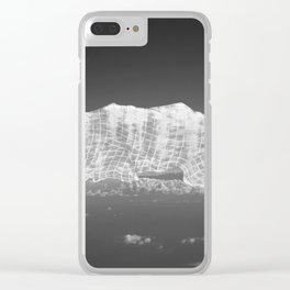 Cloud \ Mountains Under Cover Clear iPhone Case