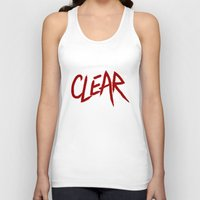 clear Tank Tops featuring .: CLEAR :. by Frankie White