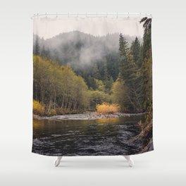 Salmon River I Shower Curtain