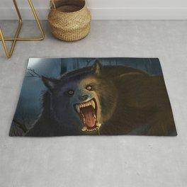 Moonlit Werewolf Rug