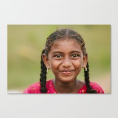 The Eyes of an Orphan Canvas Print