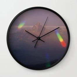 The Machapuchare Shine Wall Clock