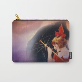 the girl and the umbrella Carry-All Pouch