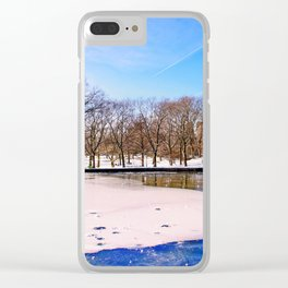 Break the Ice Clear iPhone Case