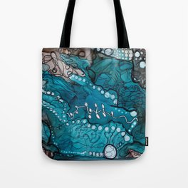 Jupiter Lineage Ink Botanical Tote Bag