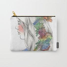 Fleurs d'aquarelle Carry-All Pouch