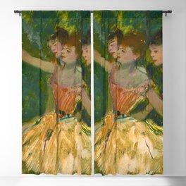 "Edgar Degas ""Danseuse au tambour (Dancer with a tambourine)"" Blackout Curtain"