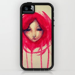 bleeding head scarf iPhone Case