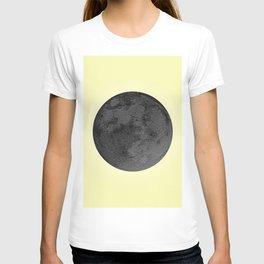 BLACK MOON + CANARY YELLOW SKY T-shirt