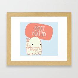 Ghost Hunting Framed Art Print