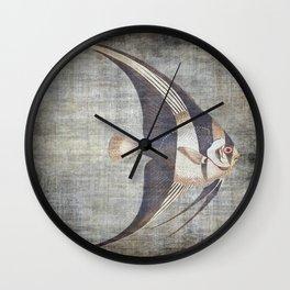 Tropical Grunge Wall Clock