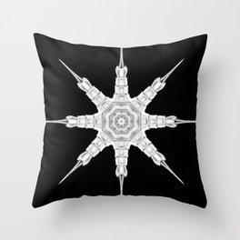 Ninja Star 2 Throw Pillow