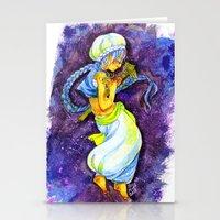 aladdin Stationery Cards featuring Aladdin by Mottinthepot