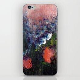 Poppy - Mixed Media Acrylic Abstract Modern Art, 2009 iPhone Skin