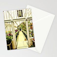 Life in  a glass house Stationery Cards