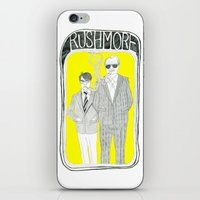 rushmore iPhone & iPod Skins featuring Rushmore by Mexican Zebra