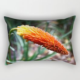 Colours of Nature - Kniphofia  Rectangular Pillow