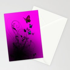 Summer Butterflies Stationery Cards