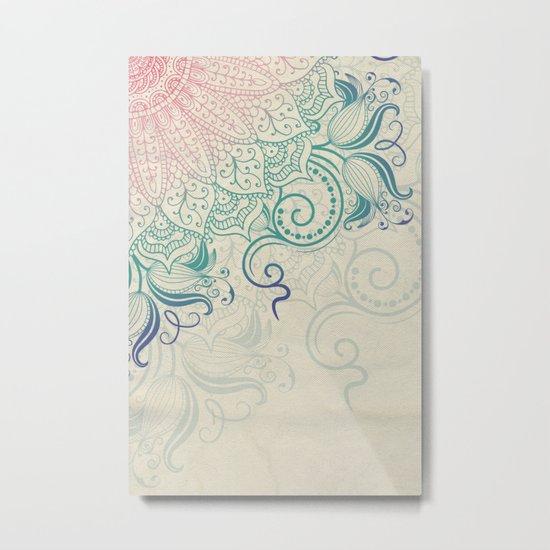 Mandala - Canvas Metal Print
