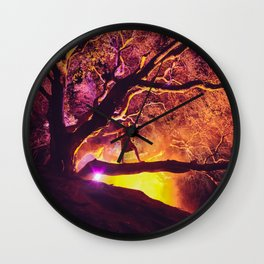 Midnight Spell Wall Clock