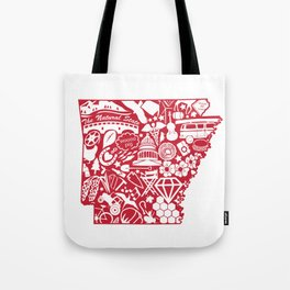 I Love Arkansas Tote Bag