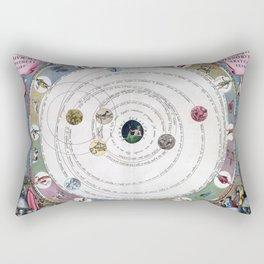 Cellarius Harmonia Macrocosmica Rectangular Pillow
