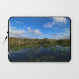 Blue Hour In The Everglades Laptop Sleeve