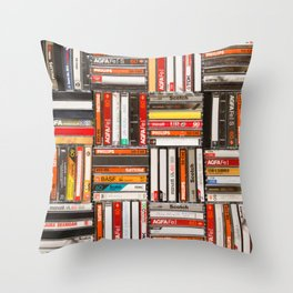 Something Nostalgic - III - Colored Version #decor #society6 #buyart Throw Pillow