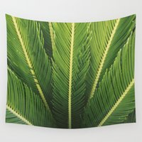 palm tree Wall Tapestries featuring palm tree by Life Through the Lens