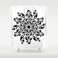 splash Shower Curtains featuring Splash by BWartwork