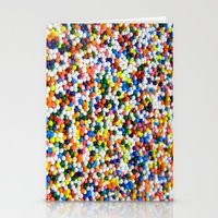 sprinkles Stationery Cards featuring Sprinkles by Electric Avenue