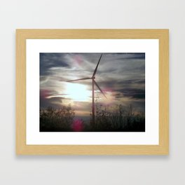 Blown Framed Art Print