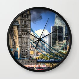 Tower Bridge and the Cheese Grater Wall Clock