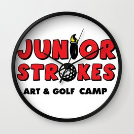 Junior Strokes Camp Wall Clock
