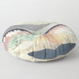 Golden Spring Reflection Floor Pillow