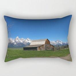 Historic Moulton Barn Rectangular Pillow