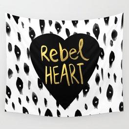 Rebel Heart Wall Tapestry