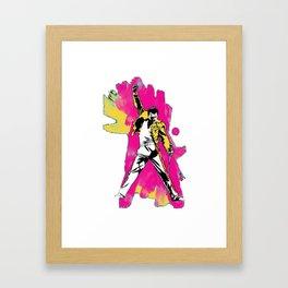 Freedy Mercury Slim Fit Framed Art Print