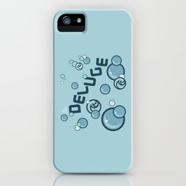 Deluge iPhone Case