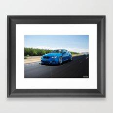 BMW M3 Coupe Framed Art Print