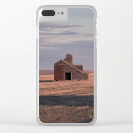 Grain Elevator 19 Clear iPhone Case