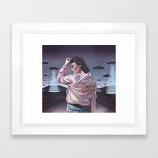 They're coming Framed Art Print