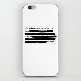 Libra 1 iPhone Skin