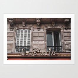 Le Paris France Art Print