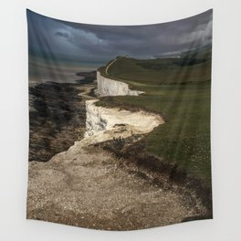 White cliffs of Beachy Head Wall Tapestry