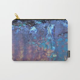 Waterfall. Rustic & crumby paint. Carry-All Pouch
